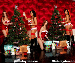 Christmas celebration with Jayden Cole