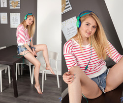 Lia - Blonde Teen - Nubiles