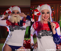 Leya Flacon's Christmas treat - Leya Falcon