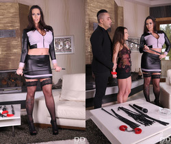 Anita B., Simony Diamond - Subby's First BDSM Threesome