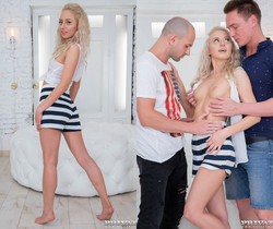 TD Bambi, adolescent teen in DP session - Private