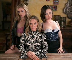 Jenna Sativa, Mona Wales, Kali Roses - The Family Business