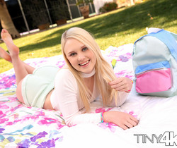 Lily Rader - Lily Plays With Her Big Toys - Tiny 4K