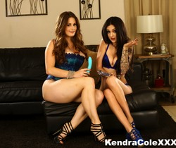 Sexy Kendra Cole has a hot lesbian experience!