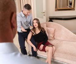 Evelina Darling - Horny For DP - 21Sextury