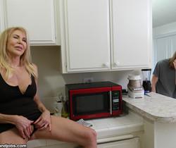 Erika Lauren - Erica Lauren: Tricky Step Son Handjob