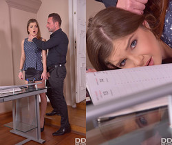 Renata Fox - Submissive Secretary's Anal Duty