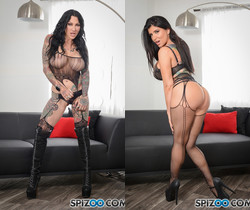 Romi Meet Jeneveive - in this girl on girl love - Romi Rain