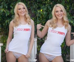 Blonde Kenna James Flashes Us - Cherry Pimps