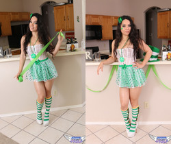Tianna - Happy St. Patricks Day - SpunkyAngels