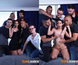 Andreina DLux - Amaranta Hank's Porn Casting - CumLouder