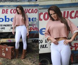 Jennifer Nexus - Bus Stop - Girlfolio