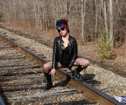 Sabrina - On The Tracks - SpunkyAngels