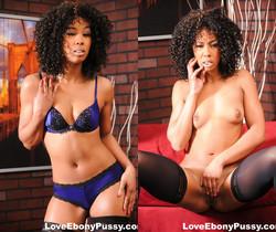 Gorgeous black pornstar Misty Stone really wants that dick