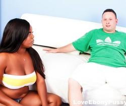Busty black babe Jayden Starr gets banged - Love Ebony Pussy