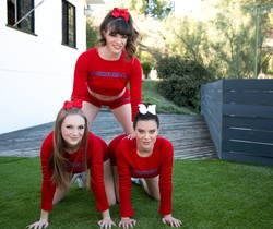 School's Out: Three Cheers - Girlsway