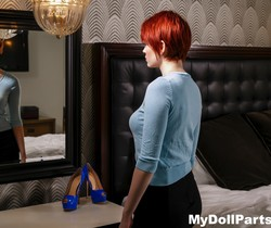 Redhead Bree Daniels has some alone time - My Doll Parts