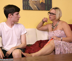 Goddess Breanna - Archie Gets Milked By Step Mom Brianna