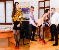 Victoria J - Multitasking Secretary - 21Sextury