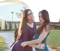 Lucia Nieto - Two Lucias in town - CumLouder