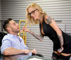 Sarah Jessie - Big Tits Office Chicks #05 - Devil's Film