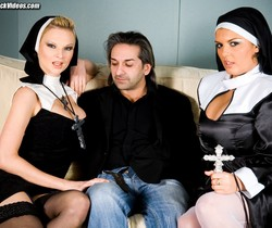 Jasmine Black and Tarra White are the ultimate sinners