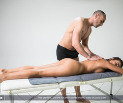 Fucking My Masseur - Alyssia Kent & Stirling Cooper - Joymii