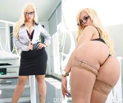 Blondie Fesser - Stacked Blonde Fucked Hard