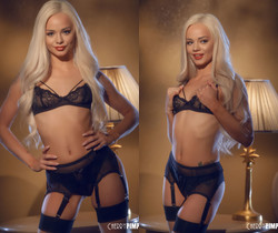 Elsa Jean is Sultry in Stockings - Cherry Pimps