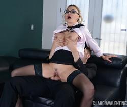 Claudia Valentine in Fucking My Therapist