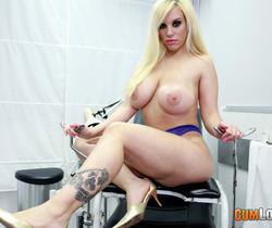 Blondie Fesser at Doctor Nick's office - CumLouder