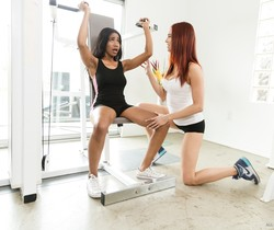 Jayden Cole, Jenna Foxx - Gym Perks - Fantasy Massage
