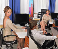 Nikky Dream - Cock Sucking At Work