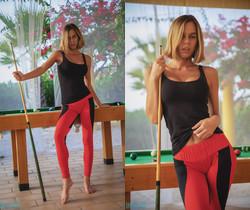 Jennifer Ann - Anyone For Pool - Skin Tight Glamour