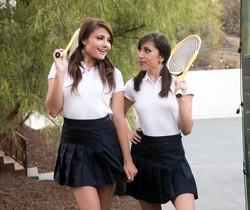 Adria Rae, Judy Jolie - The Tennis Tutor - Girlsway