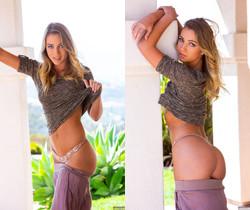 Zoey Taylor Strips Down In Her Backyard