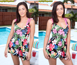 Natalie - Young Fun In The Sun - Naughty Mag