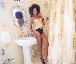 Luna Corazon - Black Luna's Gaping Interracial Anal