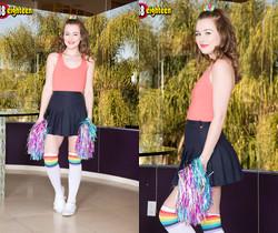 Danni Rivers - Pervy Cheerleader - 18eighteen