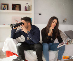 Susy Gala and Nick: Fuck-buddies in crime - CumLouder
