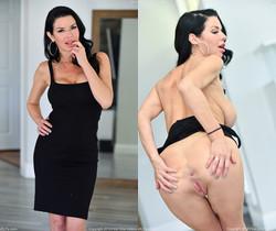 Veronica - Elegant Black Dress - FTV Milfs