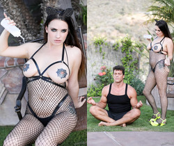 Cum On My Tattoo - Scarlet De Sade - Burning Angel