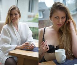 Ingrid - Morning Tease - Girlfolio