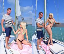 Christina Shine - Sailing & Sucking