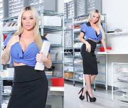 Rachele Richey, Cyrus King - Big Tit Office Chicks #06
