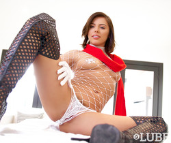 Adriana Chechik - A Slippery Christmas - Lubed