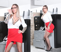 Karma Rx - Big Tit Office Chicks #06 - Devil's Film
