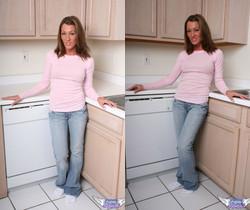 Starri - In The Kitchen Counter - SpunkyAngels