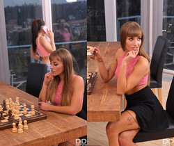Silvia Dellai, Ashley Woods - Anal Check Mate