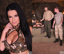 Veronica Avluv - Military Action in Her Back Section